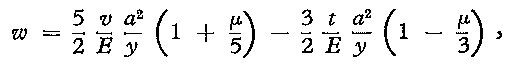 Displacement Formula